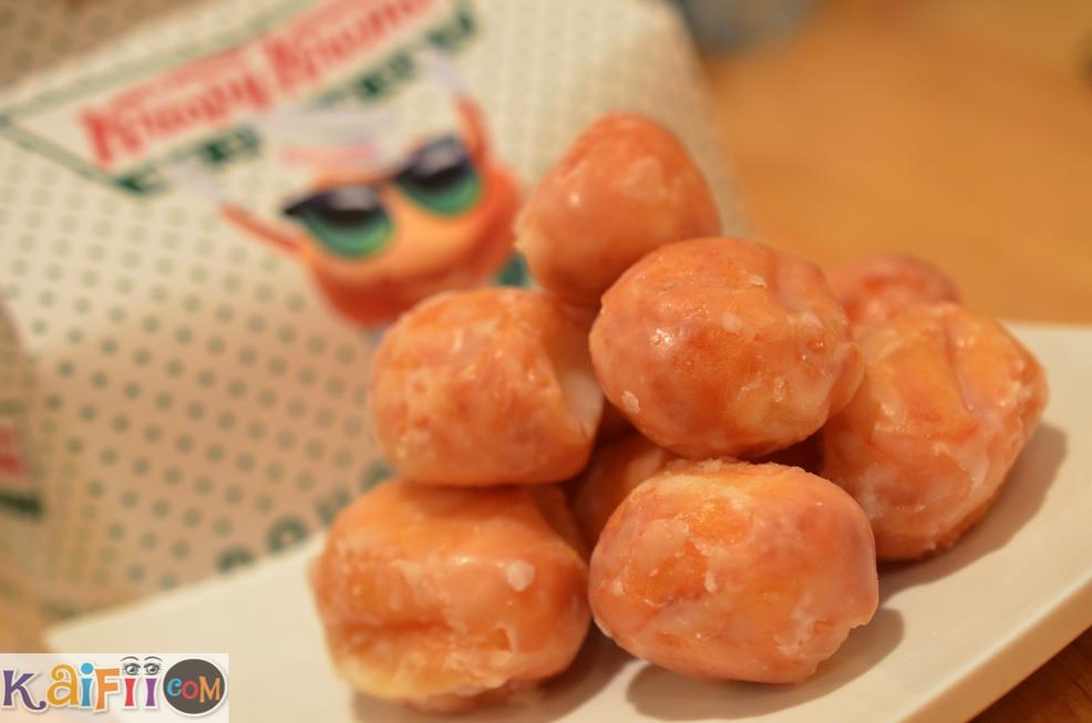 Krispy Kreme كرات الدونت من كرسبي كريم Kaifii