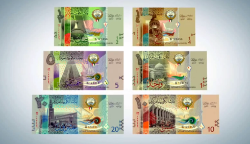 الاصدار السادس للدينار الكويتي