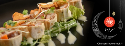 Maki kuwait--cover,facebook--Chicken Shawarmak